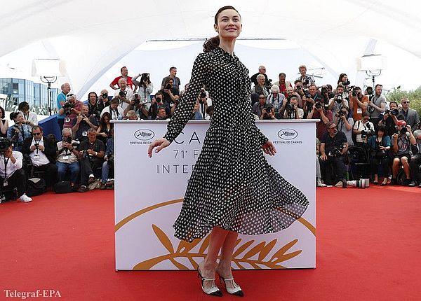 Ольга Куриленко блистала на кинофестивале в Каннах