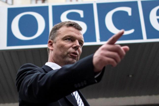 На Закарпатье нет необходимости усиливать миссию ОБСЕ, — Хуг