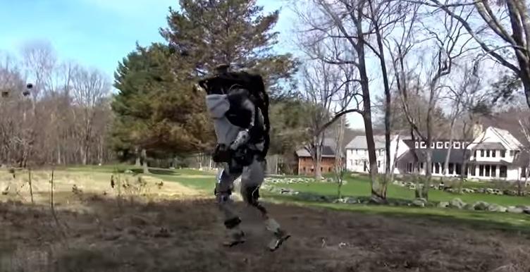 Boston Dynamics показала своего бегающего робота