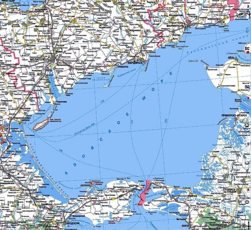 Генерал назвал три цели Путина в Азовском море