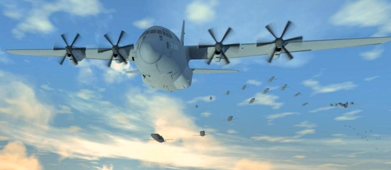 В США тестируют автономных боевых дронов, которые будут использовать тактику «роя»