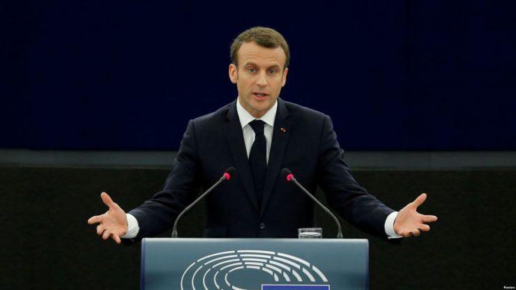 Макрон не поддерживает расширение Евросоюза за счет балканских стран