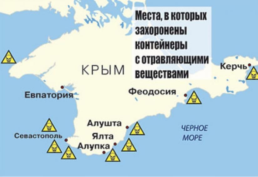 Куда «исчезло» химическое оружие в Крыму