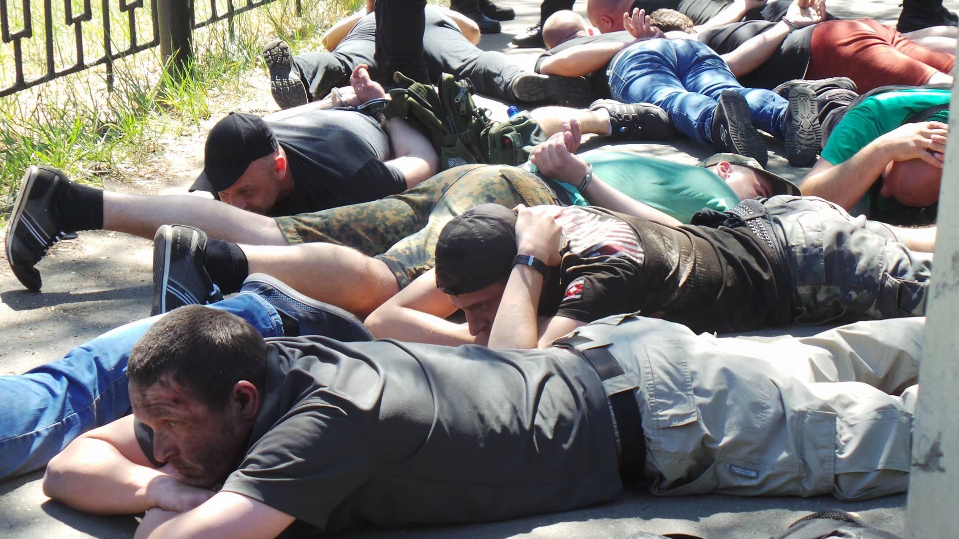 Погром на Лесной — следствие самоустранение государства от процессов арбитража, — Романенко
