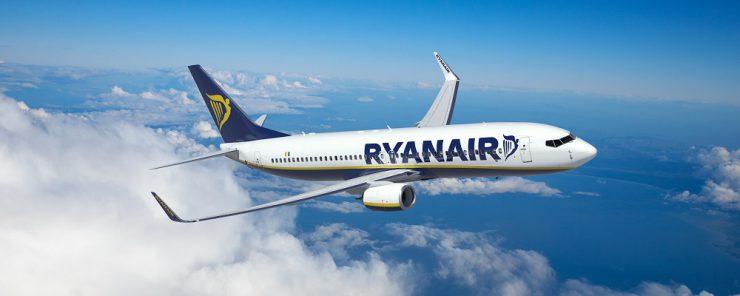 В Ryanair назвали средний тариф в 2018 году