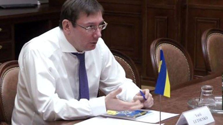 Луценко: суд по госизмене Януковича – это «процесс над Путиным»