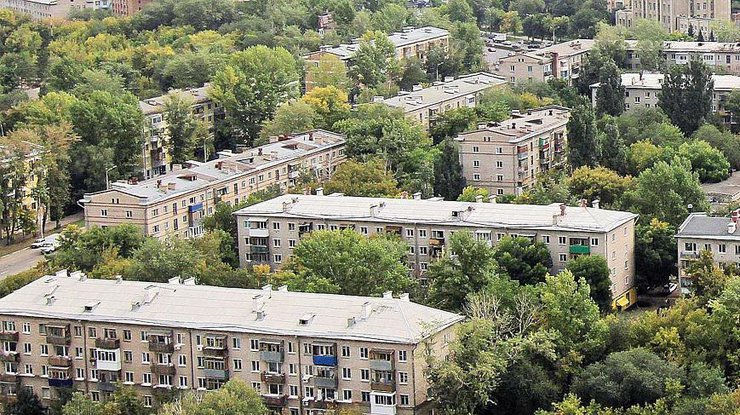 В Киеве будут сносить «хрущевки»