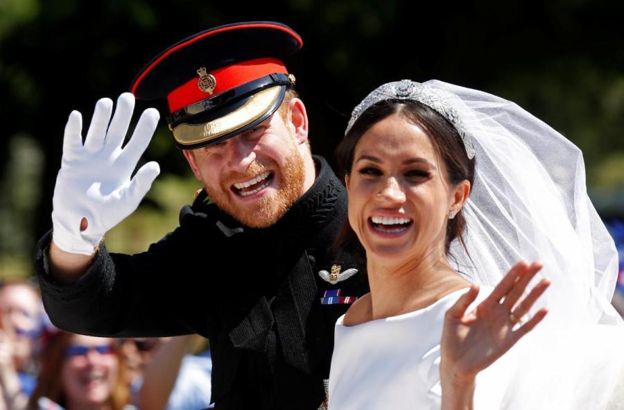 Принц Гарри стал первым за 125 лет членом королевской семьи, который не побрился в день свадьбы