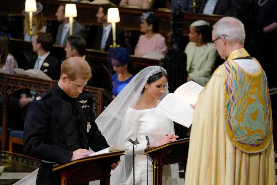 Бекхем и внучка Елизаветы ІІ опозорились на королевской свадьбе