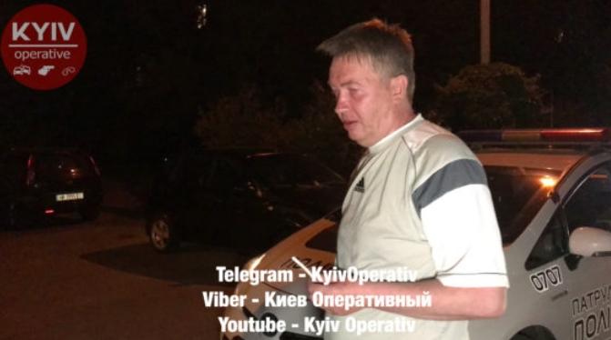 Бывший нардеп разъезжал по Киеву в нетрезвом состоянии