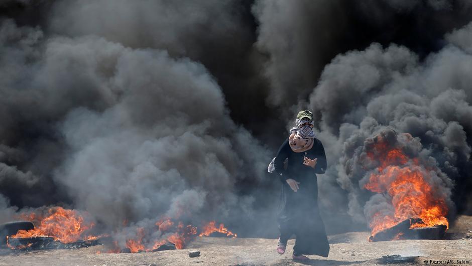 Открытие посольства США в Иерусалиме: 25 палестинцев убиты во время протестов на границе сектора Газа