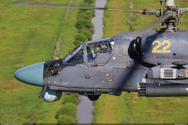 В Сирии сбили российский ударный вертолет Ка-52