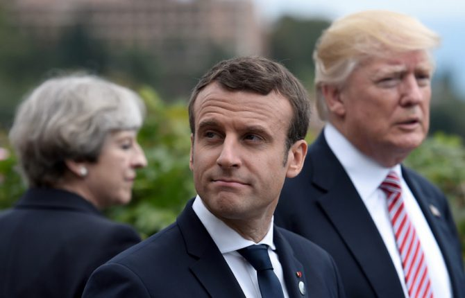 Макрон сказал, когда РФ могут пустить в G7