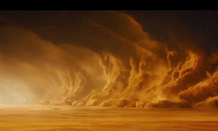 Пылевой шторм на Марсе охватил всю планету
