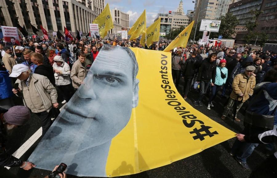 Сенцов голоданием показал преступления путинского режима — The New York Times