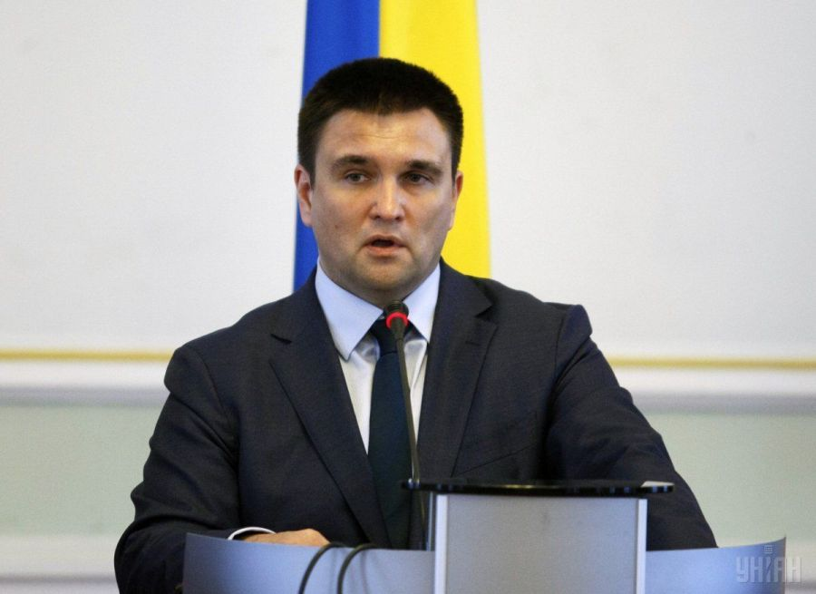 Климкин: Украина не допустит легитимизации оккупационных властей на Донбассе