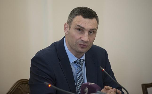 Кличко обещает штраф в тысячу гривен за незаконную парковку