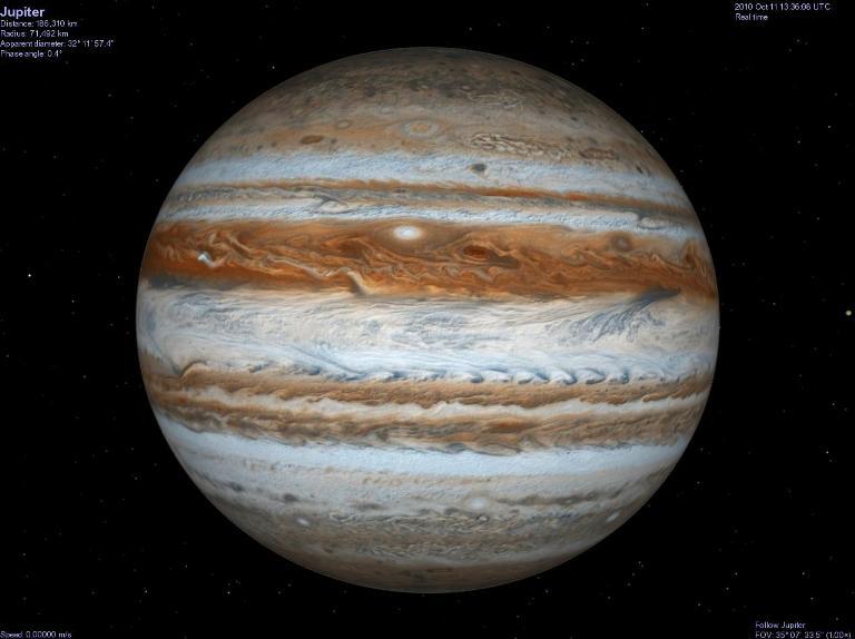 Объяснен загадочный феномен в атмосфере Юпитера