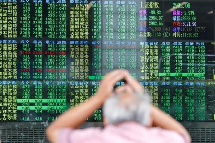 Биржи в Азии обрушились из-за «торговой войны» между Китаем и США