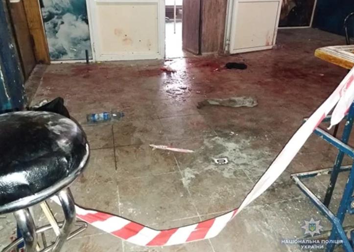 Появилось видео взрыва гранаты в ночном клубе в Сумах