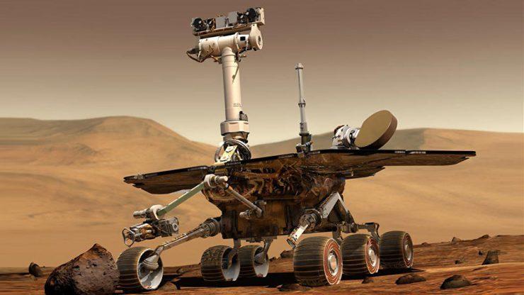 Марсоходу Opportunity угрожает потеря контакта с Землей