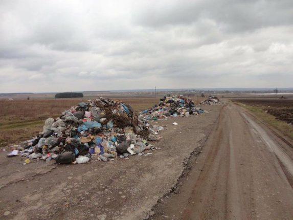 Украина продолжает утопать в мусоре