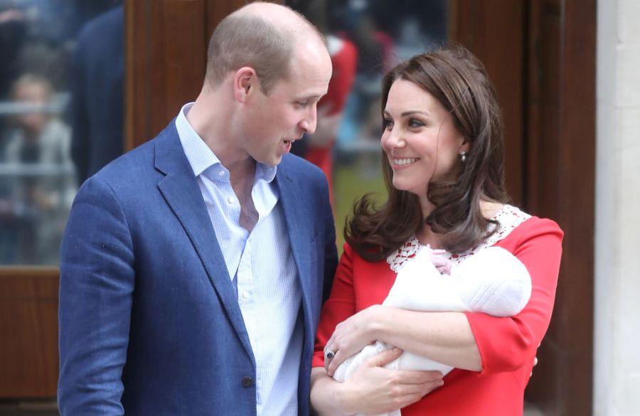 Принц Уильям и Кейт Миддлтон рассказали, когда крестят сына Луи