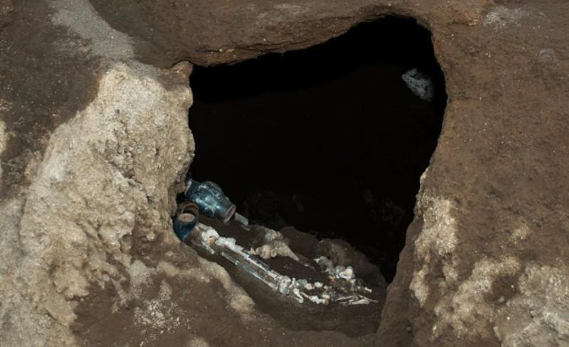 В Риме нашли нетронутую «могилу атлета»