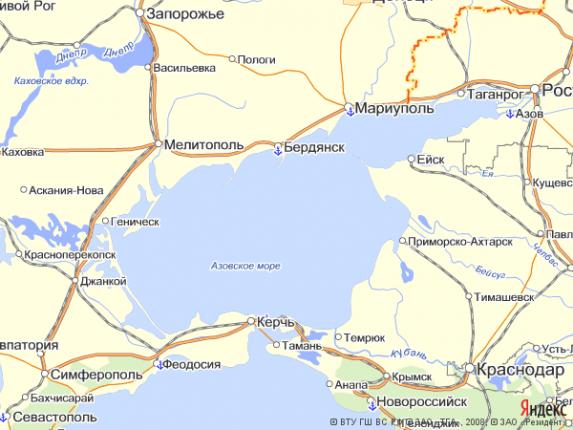 Россия пытается сделать Азовское и Каспийское моря своей внутренней акваторией