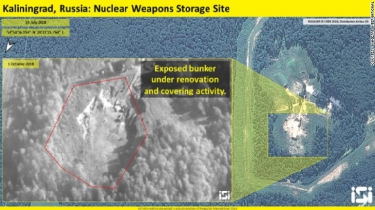 Россия модернизирует военные бункеры для хранения ядерного оружия — CNN