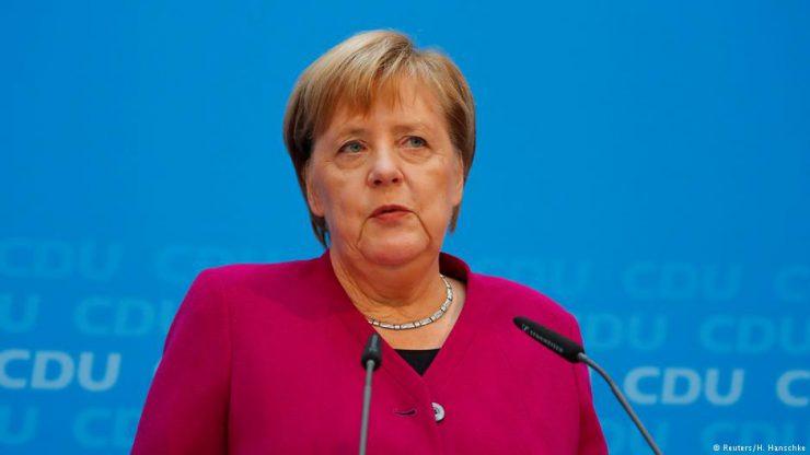 Меркель поддержала идею Макрона про создание европейской армии