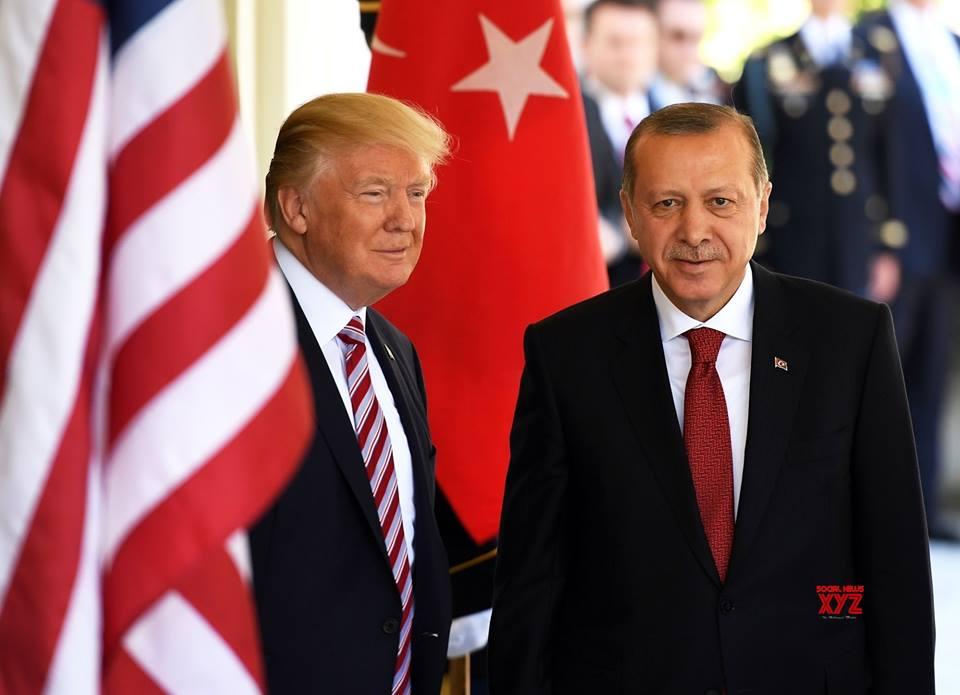 Эрдоган обсудил с Трампом агрессию РФ в Керченском проливе