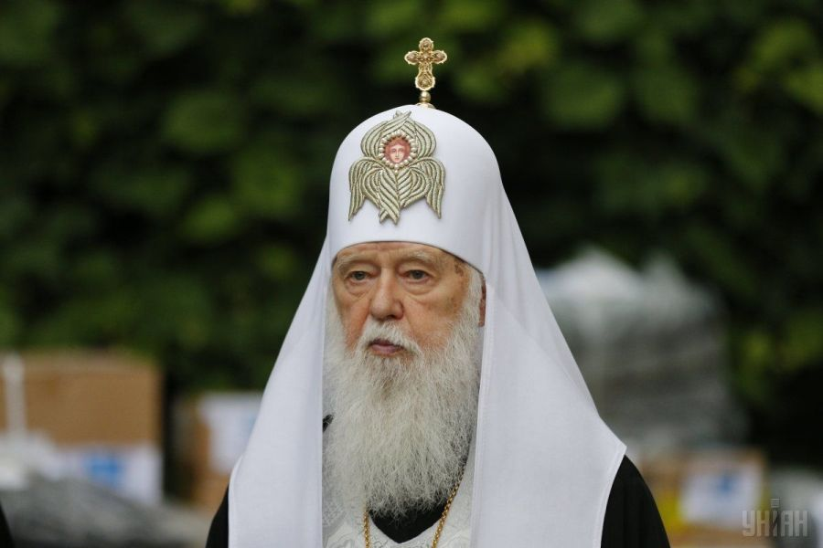 Филарет будет просить Верховную Раду оставить в Украине только одну православную церковь