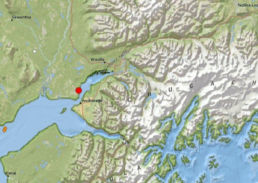 На Аляске случилось мощное землетрясение, есть угроза цунами