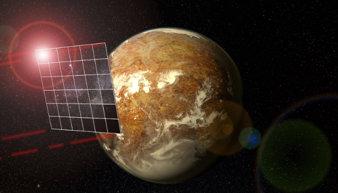 Астрофизики зафиксировали возможный межзвездный парусник