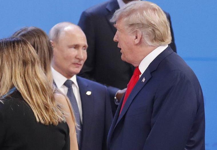 На G20 Трамп и Путин не поприветствовали друг друга