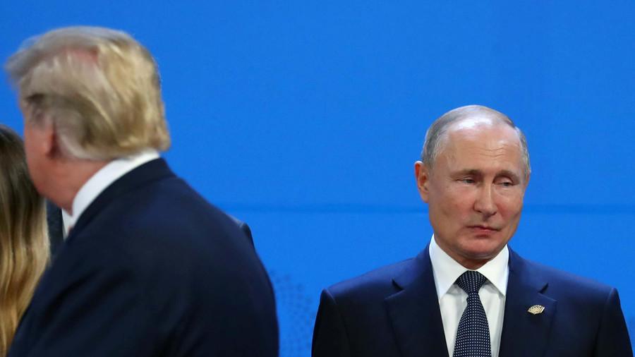 Трамп и Путин обсудили захват Россией украинских кораблей в Черном море на саммите G-20