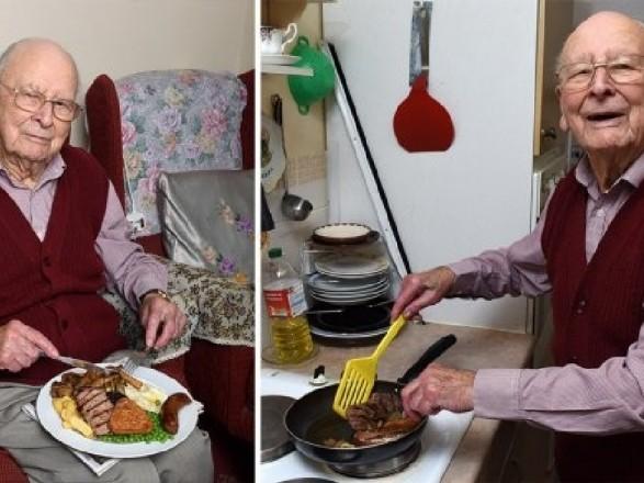 Проживший сотню лет англичанин поделился секретами долголетия