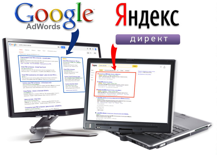 Контекстная и медийная реклама в Гугл и Яндекс