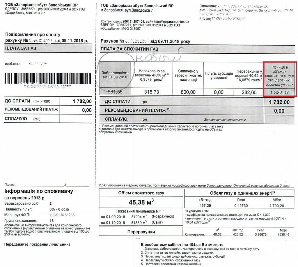 Украинцам вернут деньги за газ: регулятор наказал облгазы