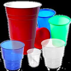 Пластиковые стаканы оптом по доступной стоимости