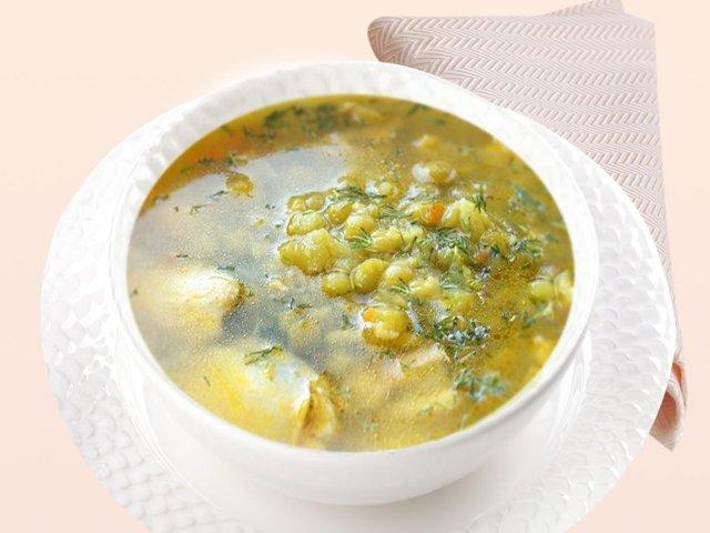 Суп с цветной капустой на курином бульоне