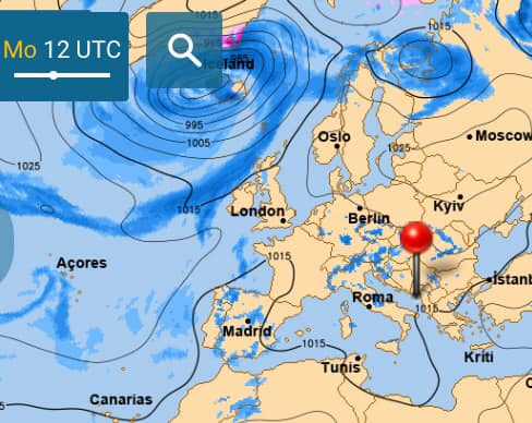 Завтра в Украину антициклон принесет сухую и солнечную погоду
