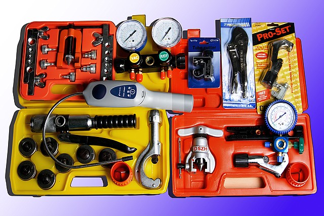 Инструменты для ремонта и диагностики холодильного оборудования