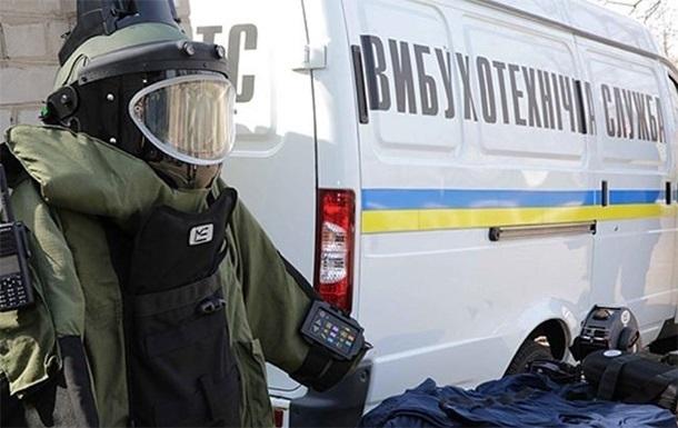 Неизвестные заминировали половину Киева