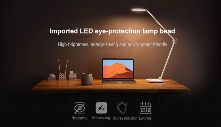 С Bluetooth и WiFi: Xiaomi выпустила «умную» настольную лампу Xiaomi Mijia MTJD02YL