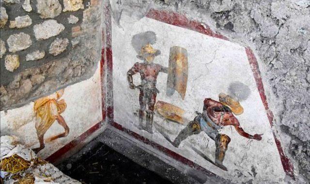 Найдена «кровавая фреска» возрастом старше Иисуса