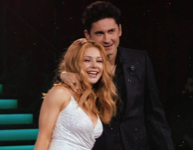 Тина Кароль и Дан Балан выступили на шоу «Танці з зірками»