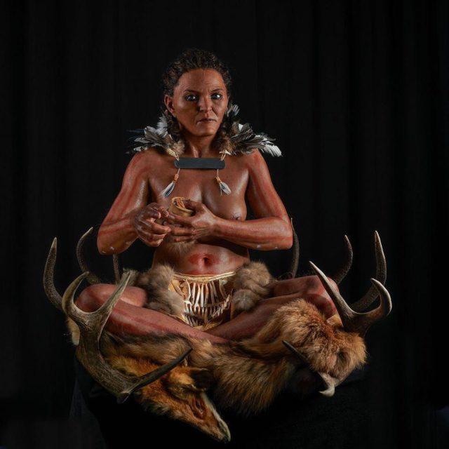 Ученые реконструировали облик женщины-шамана, жившей 7000 лет назад