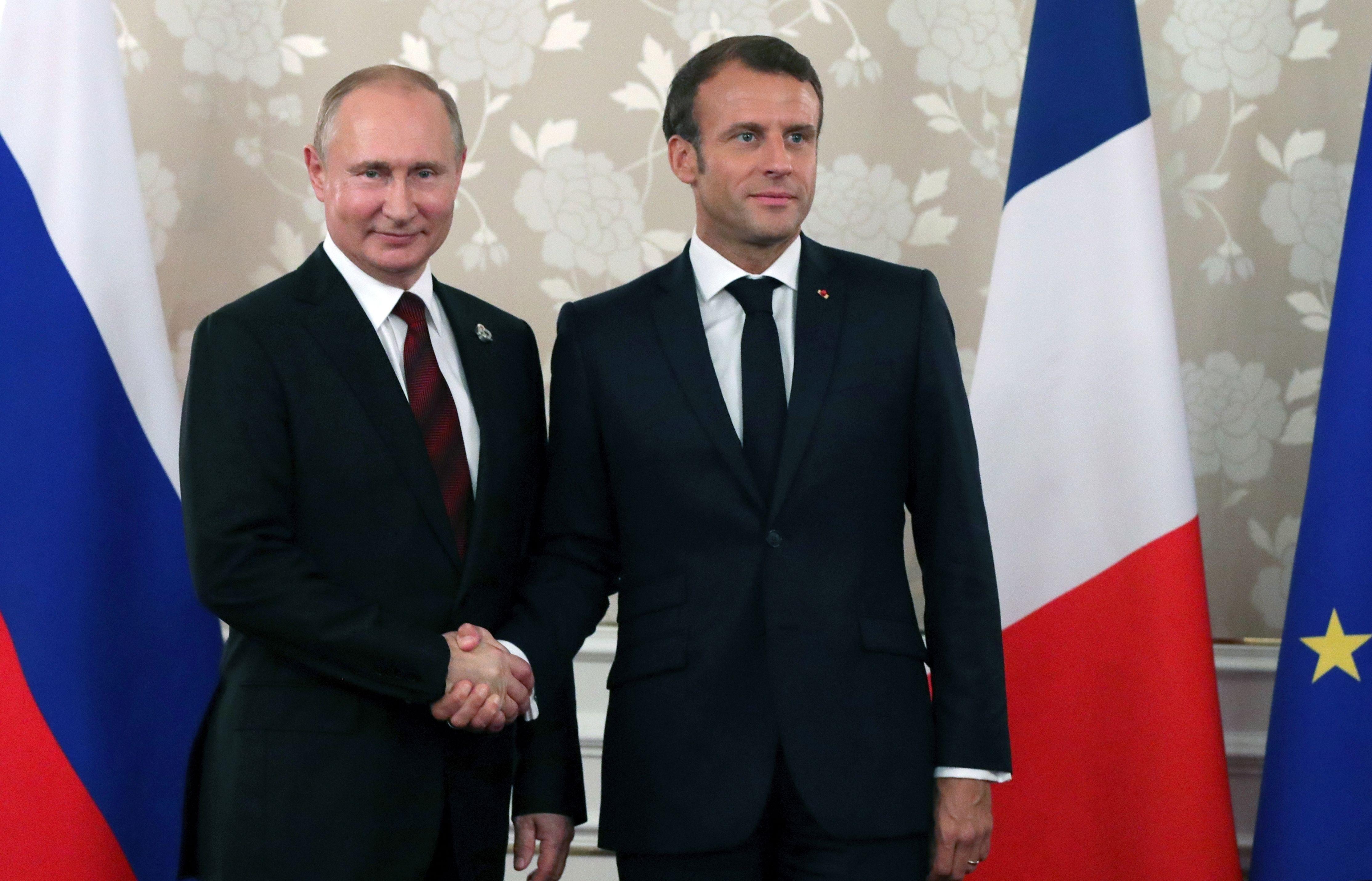 Макрон вступился за Россию и предложил НАТО дружить с Путиным